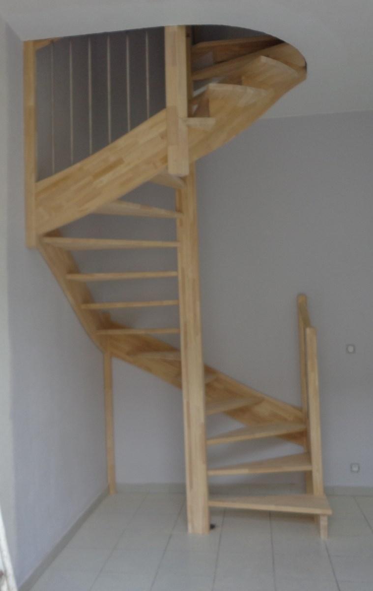 escalier spirale carré