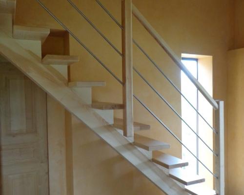 escaliers droits