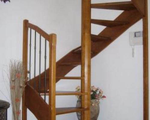 Escalier spirale fabricant escalier bois al s gard le for Escalier spirale