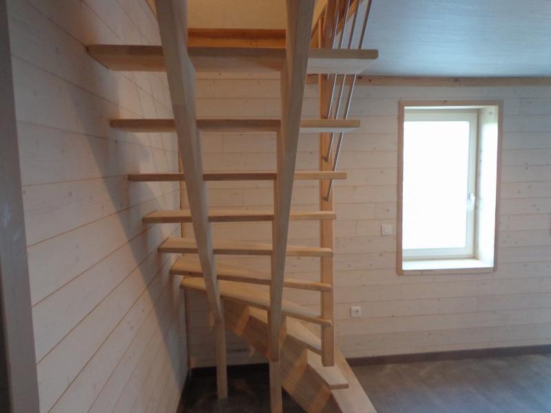 Escalier double limon crémaillère Alès (Gard) Les Angles St Gilles